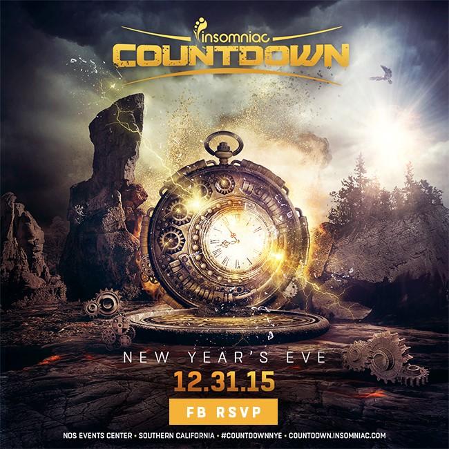 Countdown 2015 NYE New Years