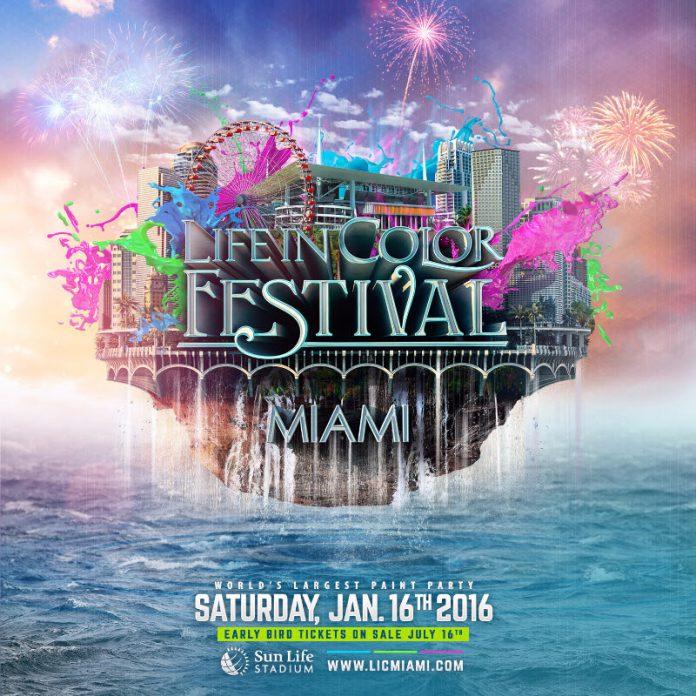 Life In Color Miami 2016 Miami LIC Miami