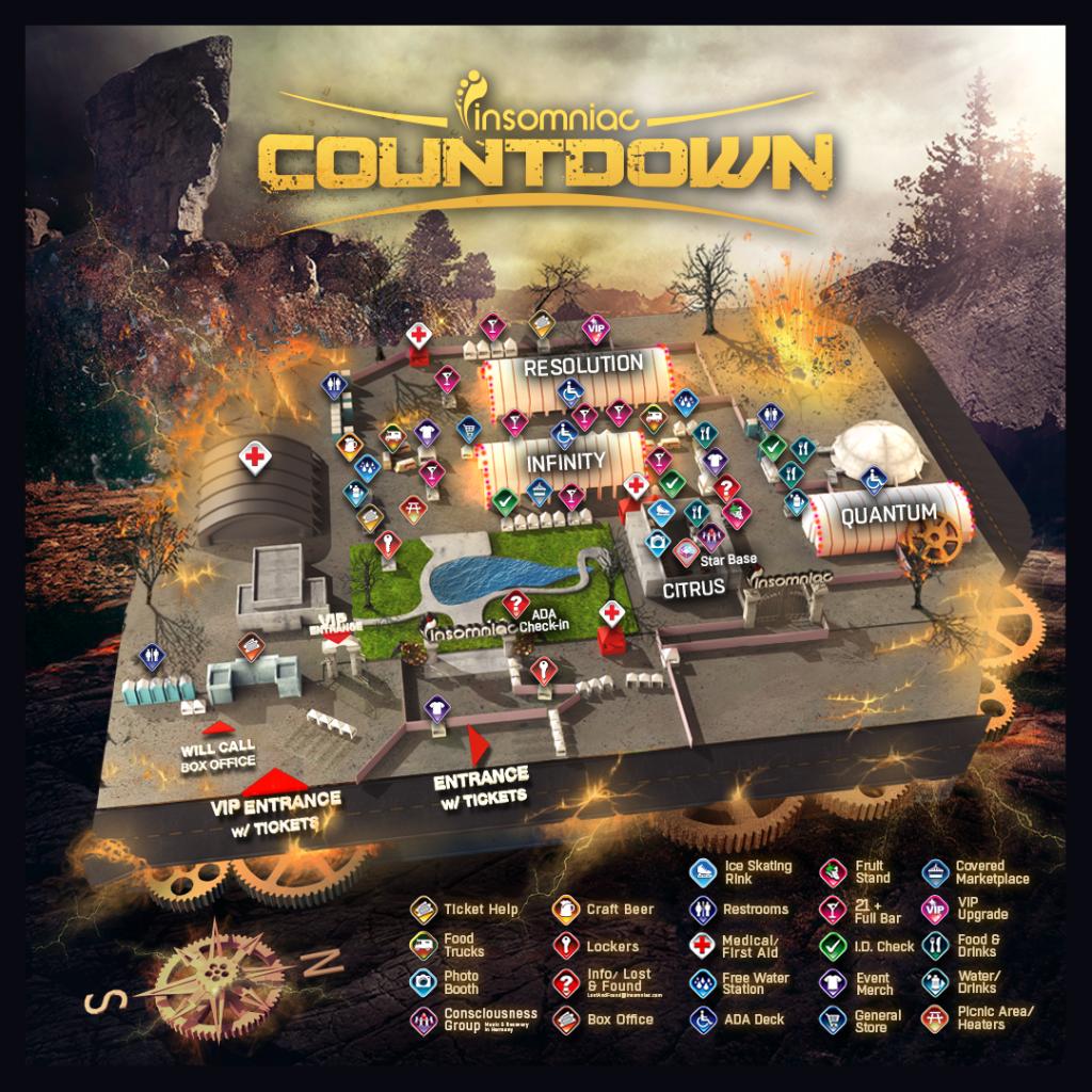 countdown 2015 map