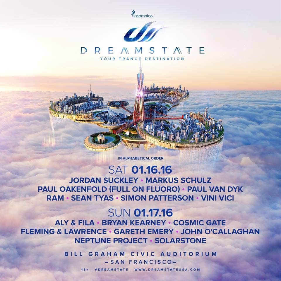 dreamstate, dreamstate san francisco, dreamstate sf, dreamstate 2015, trance, trancefamily