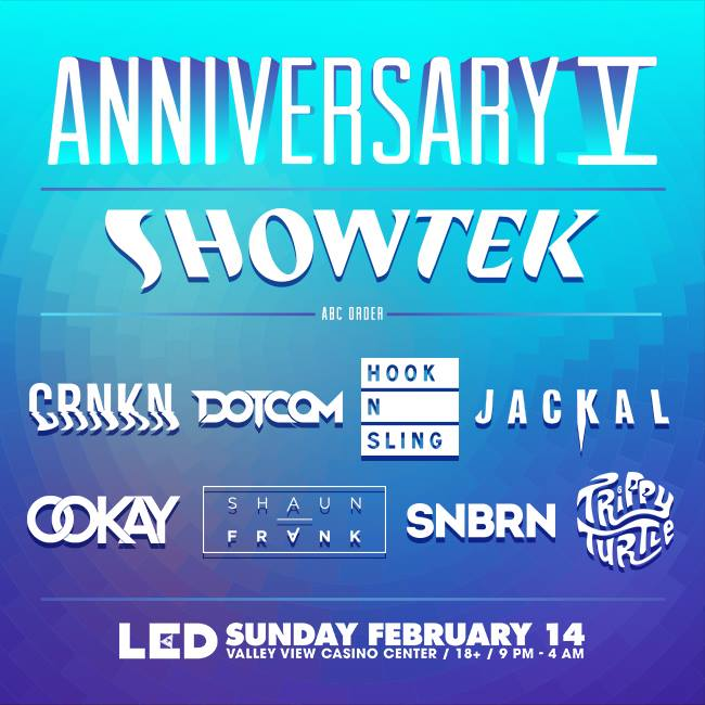 LED Anniversary V lineup My Life Everyday