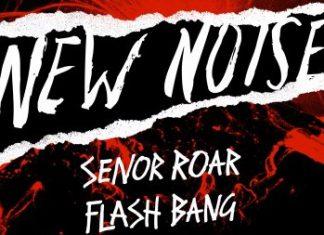 Senor Roar Flash Bang Album Cover, Señor Roar Flash Bang, DIM MAK New Noise