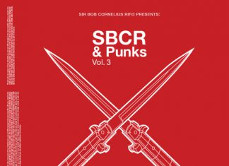 SBCR & Punks vol 3 album cover Guillotine, SBCR and Punks