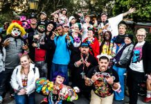 Disneyland Summer Raverday 2016 Winter Group Shot