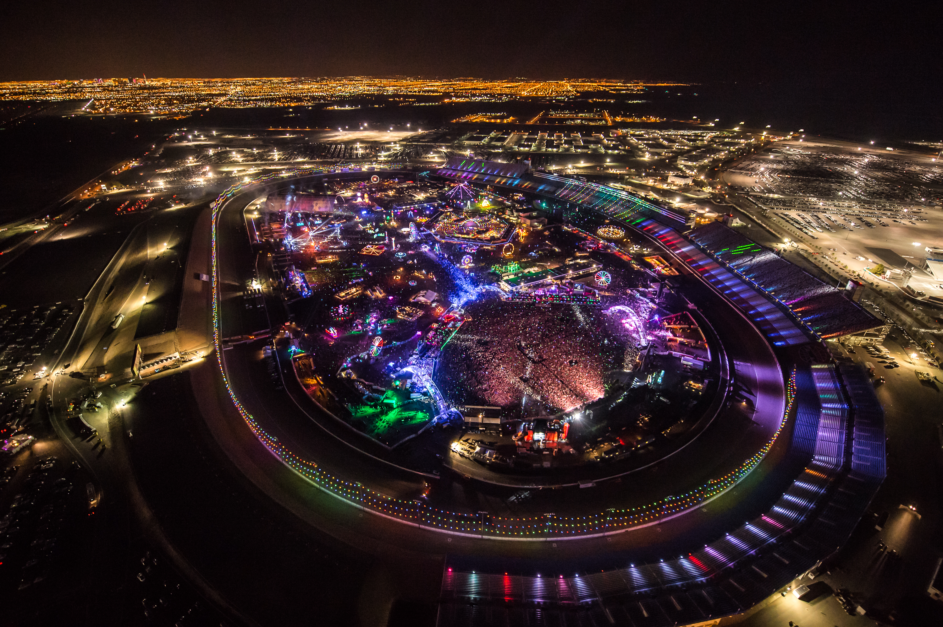 Arrive At EDC Las Vegas In Style With Maverick Helicopters EDM - Edc las vegas map 2016