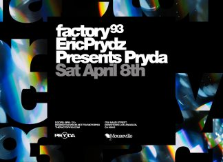 Factory 93 Eric Prydz Presents Pryda