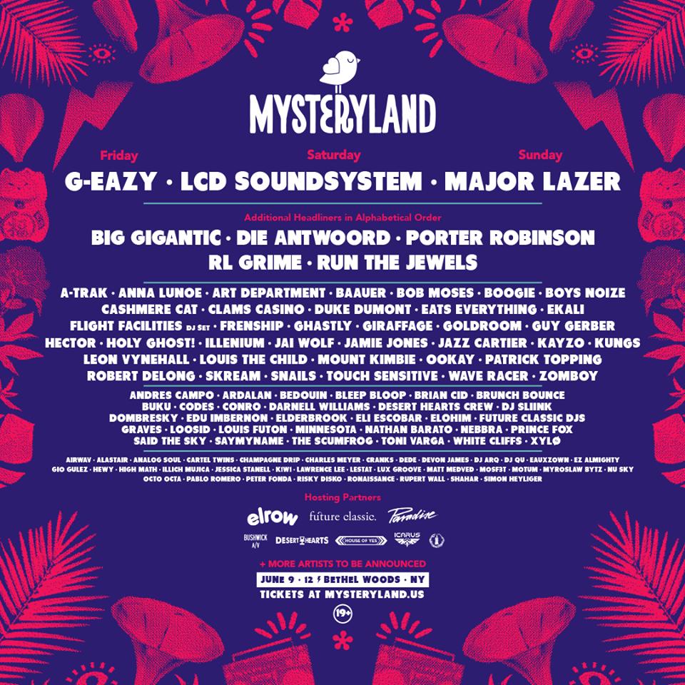 Mysteryland USA 2017 Initial Lineup