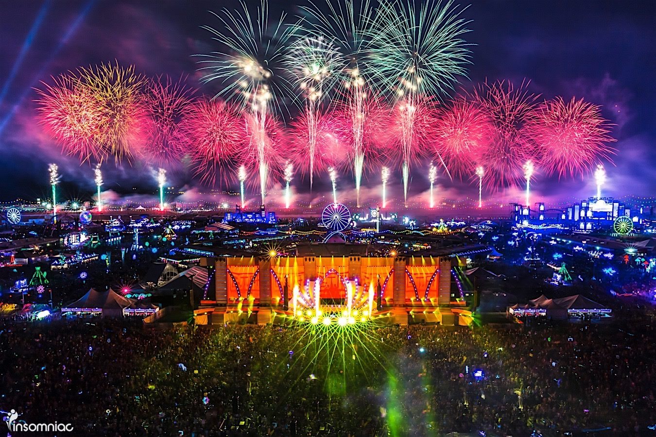 Edc Las Vegas 2017 Daily Lineups By Stage Released