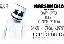 Marshmello and Friends MMW 2017