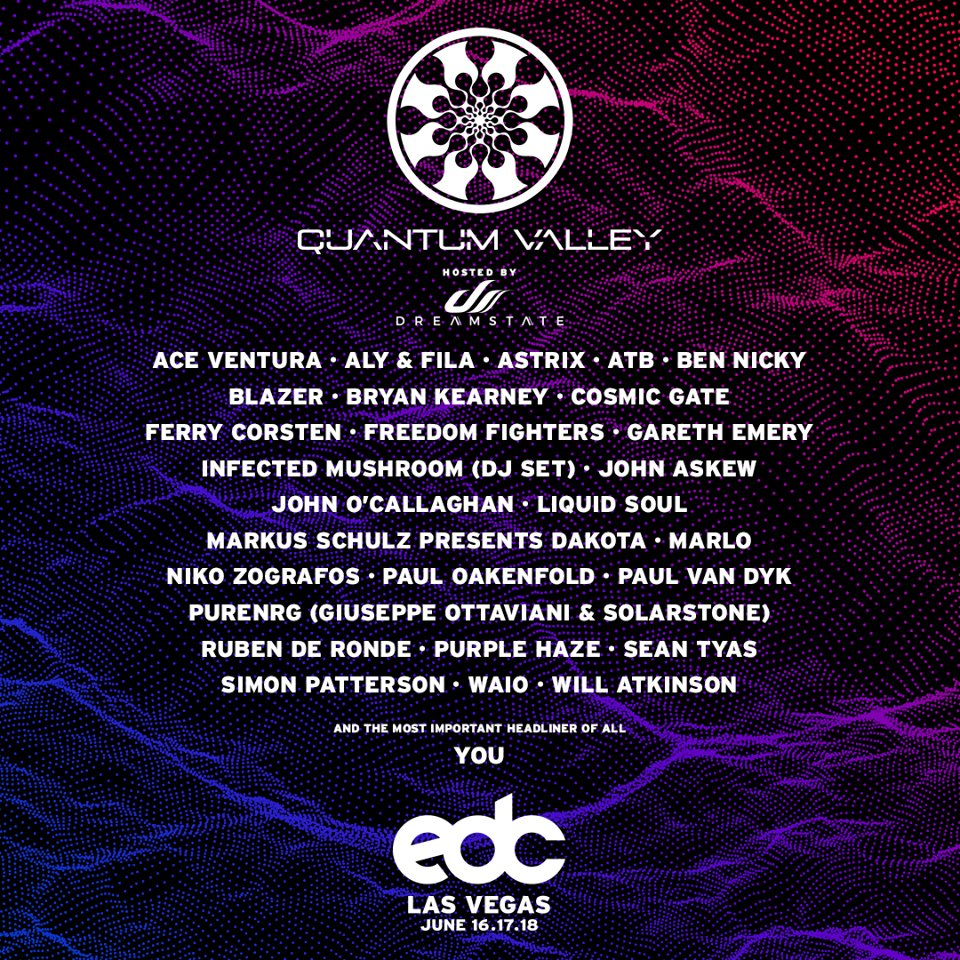 Edc Las Vegas 2017 Lineup Quantumvalley Edm Identity