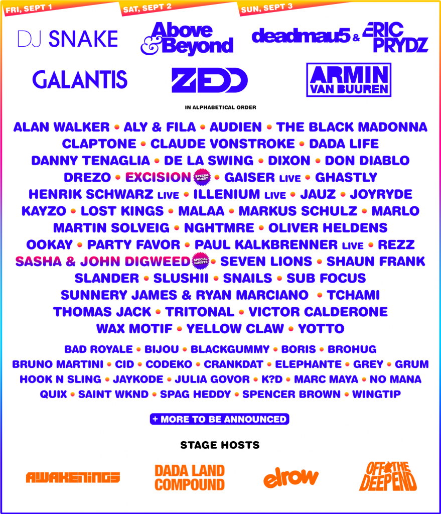 Electric Zoo 2017 Phase 2 Lineup
