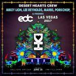 Kalliope Art Car EDCLV 2017 Desert Hearts Lineup
