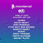 Monstercat Kalliope Art Car Lineup EDCLV 2017
