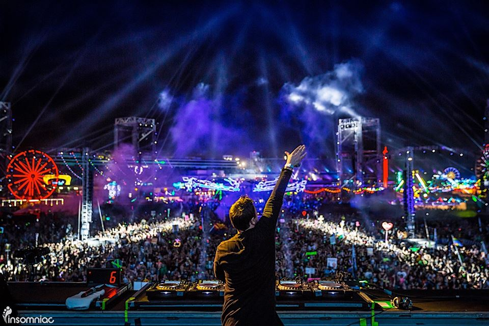 Markus Schulz at EDC Las Vegas