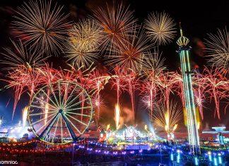 EDCLV 2016 Ferris Wheel bassPOD