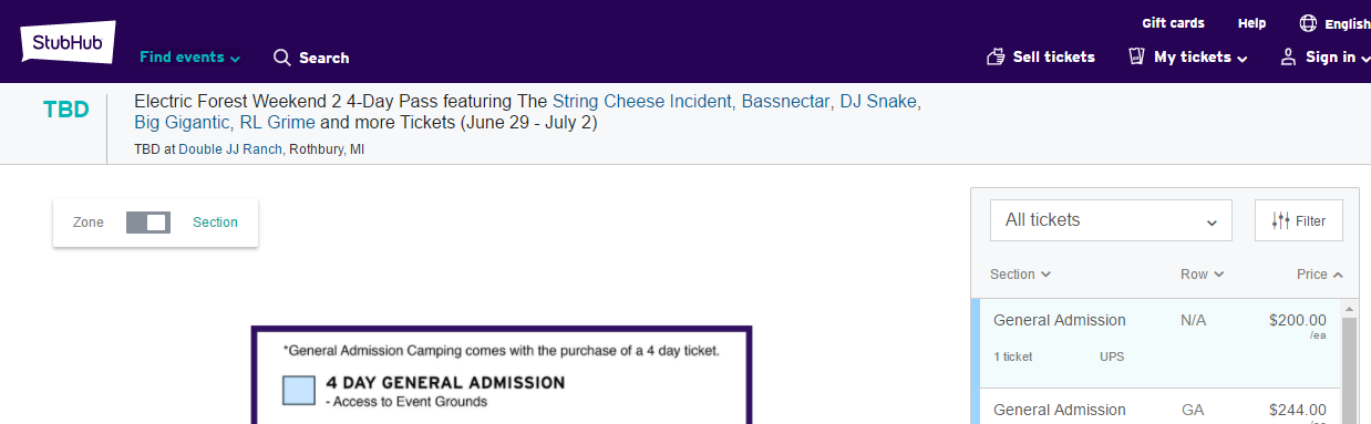 picture relating to Stubhub Printable Tickets identified as 3rd-Bash Ticket Buying: Dos And Donts EDM Ideny