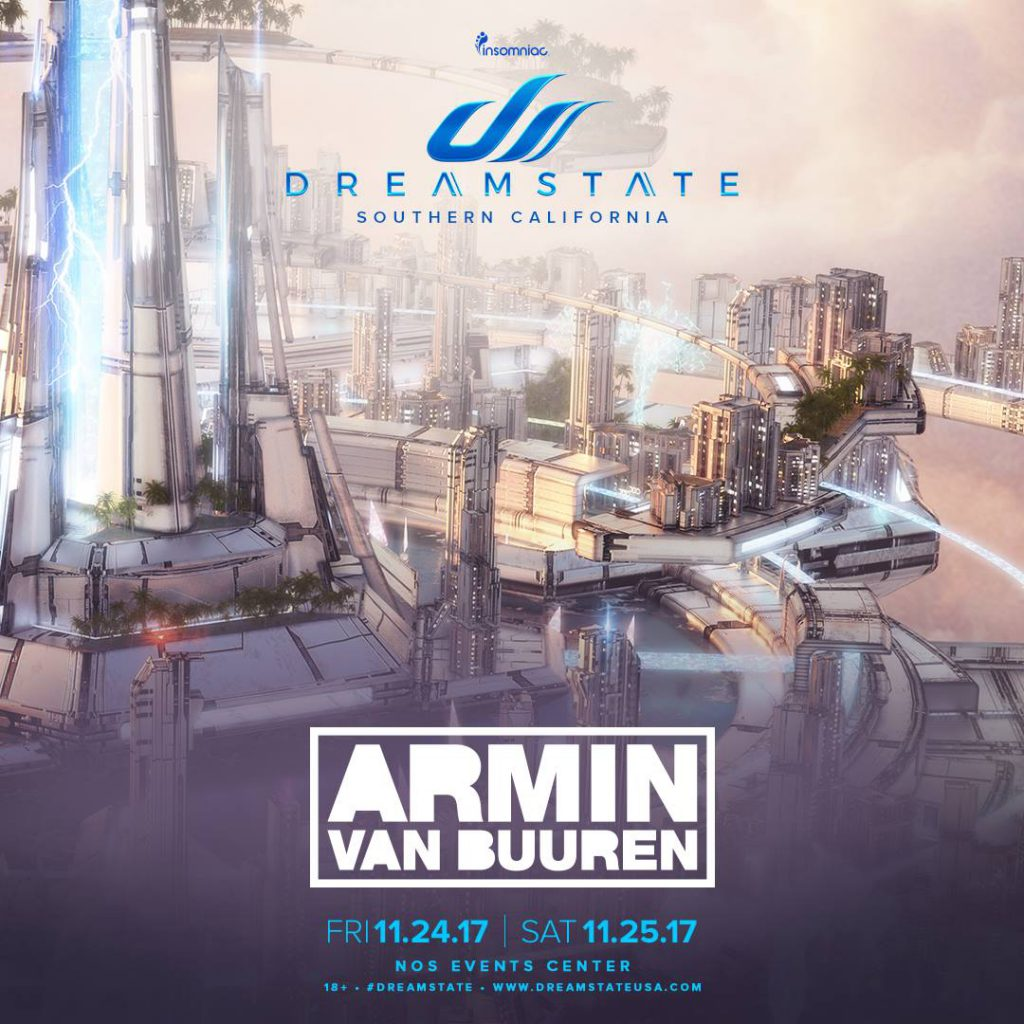 Dreamstate SoCal 2017 Day 6 Announcement