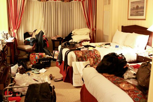 How To Survive Sharing A Hotel Room