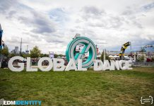 Global Dance Festival 2017 Sign