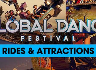 Global Dance Festival Rides & Attractions