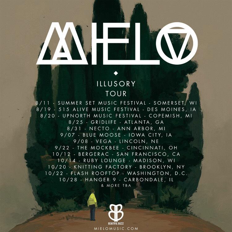 Mielo Illusory Tour 2017