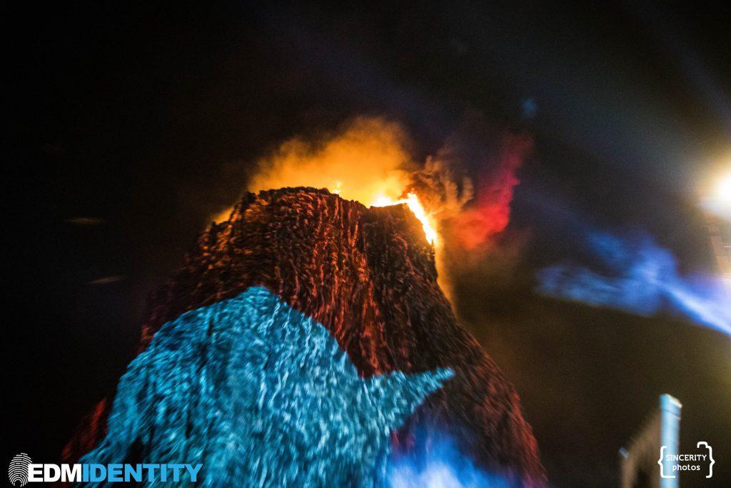 Lost Lands Flaming Volcano