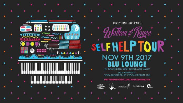 Walker & Royce Self Help Tour Blu Lounge
