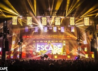 Escape Psycho Circus 2017 Ghouls Graveyard