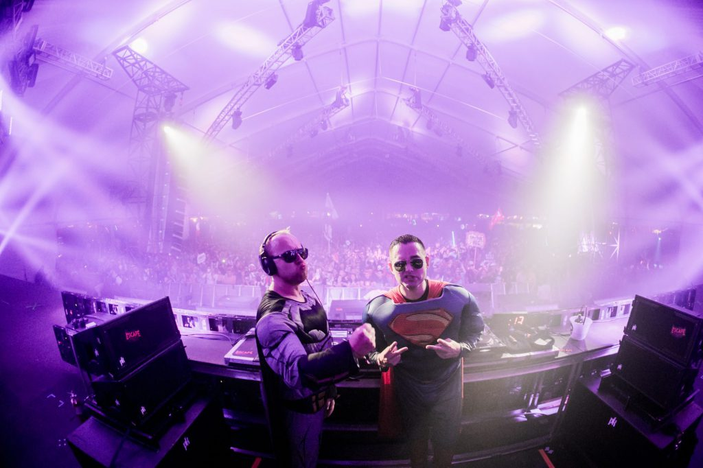 Da Tweekaz Escape Psycho Circus 2017
