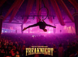 FreakNight 2017 Aerial Performer