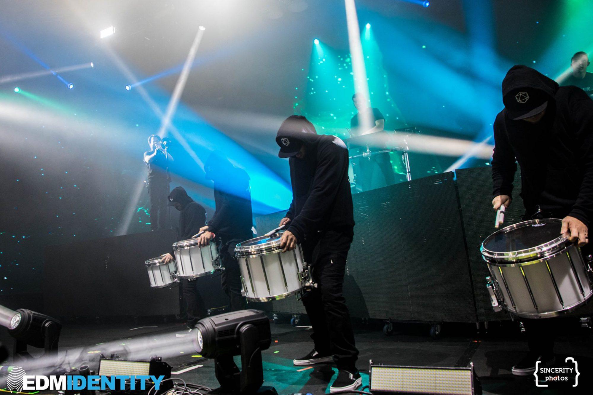Decadence Colorado Odesza Drumline