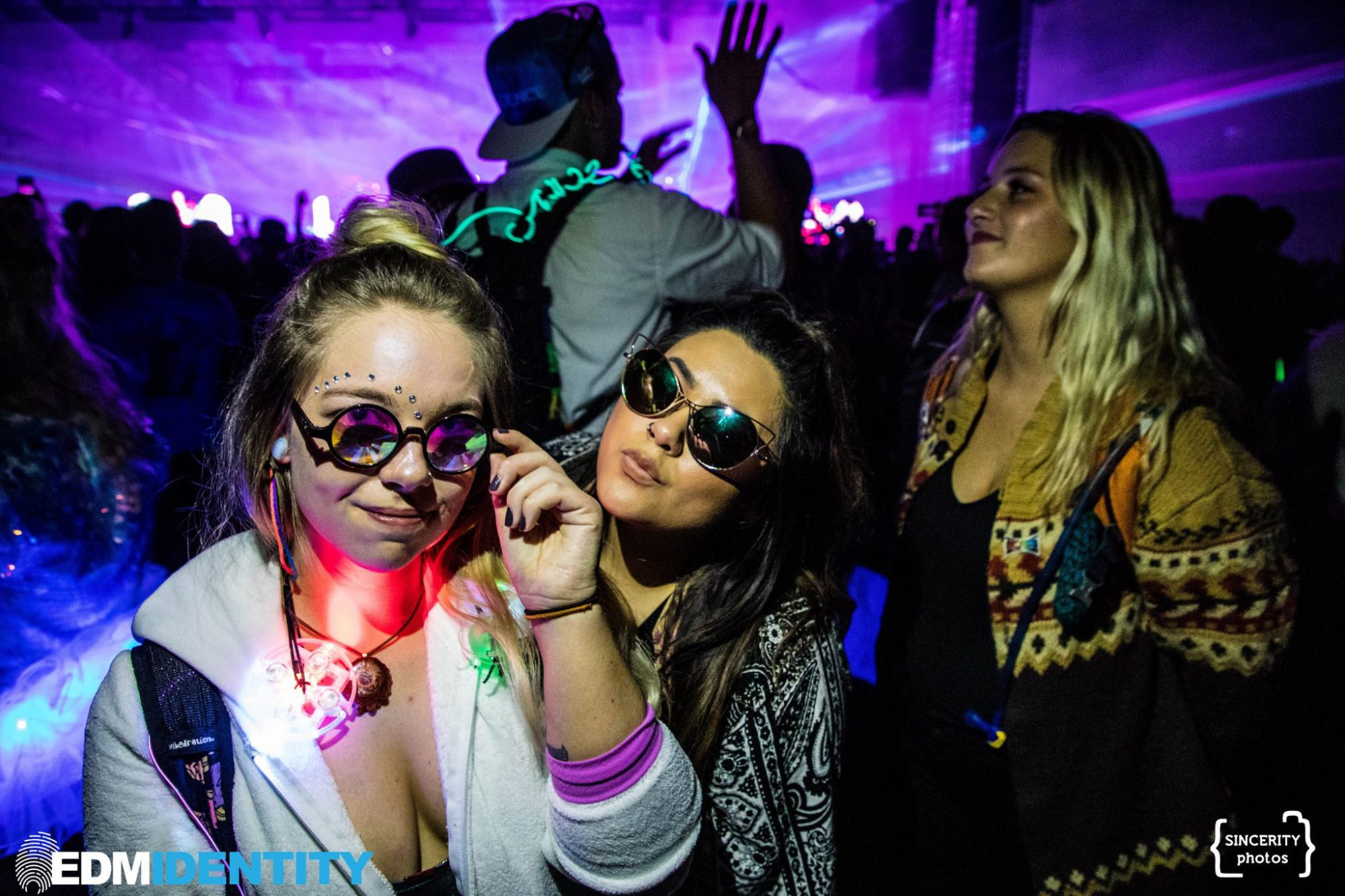 Decadence Colorado Girls with Light Toys and Sunglasses