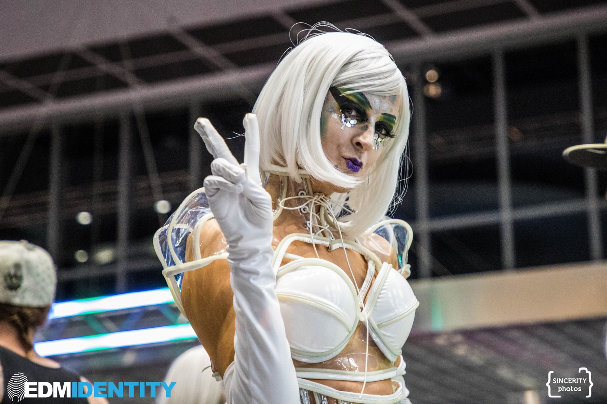 Decadence Colorado Performer in White