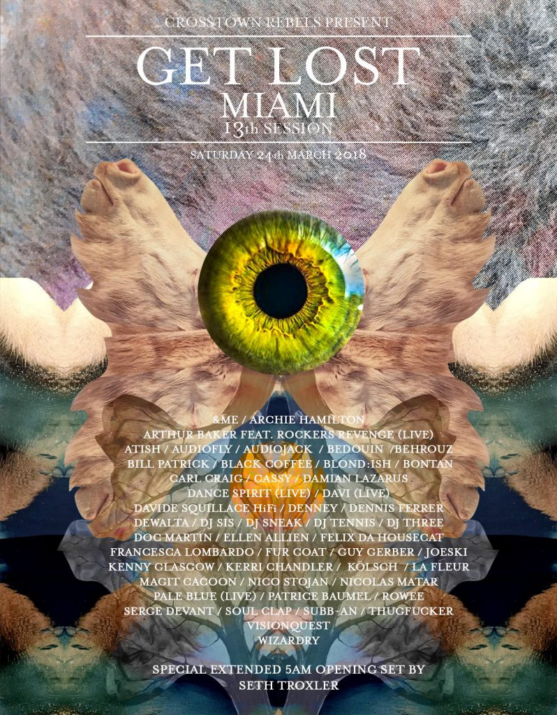 Get Lost Miami 2018 Lineup
