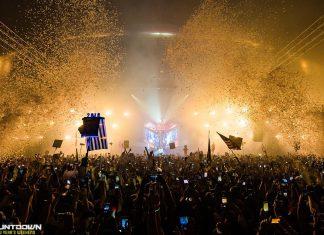 Countdown NYE 2017 Deadmau5