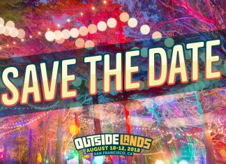 Outside Lands 2018 Save The Date