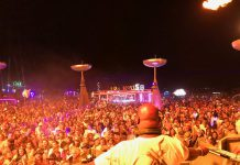 Carl Cox Playground Burning Man 2017