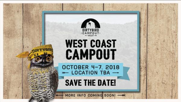 Dirtybird Campout West 2018 Dates