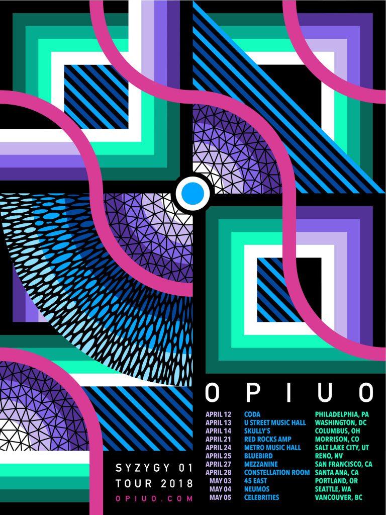 Opiuo Syzygy 01 Tour 2018