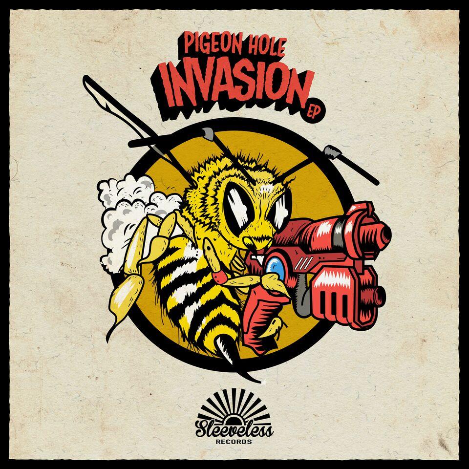 Pigeon Hole Invasion Album Art