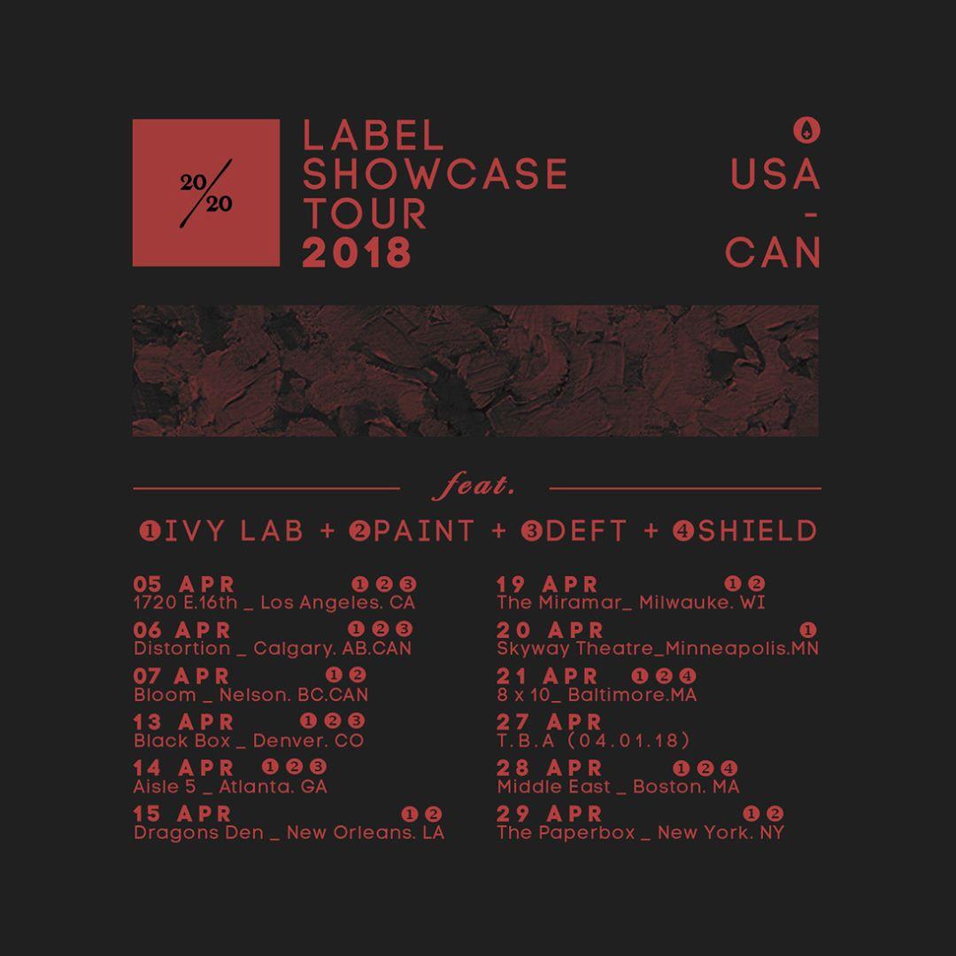 Ivy Lab Death Don't Always Taste Good Tour 2018
