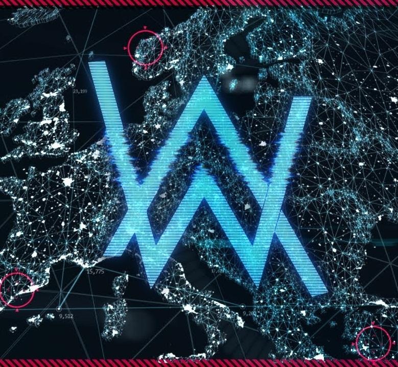 alan walker world of walker stream logo edm identity universal music logo vector universal music logic