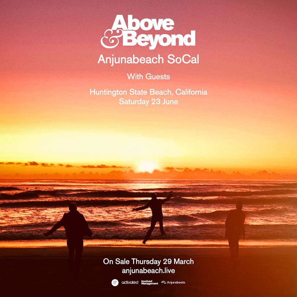Anjunabeach SoCal 2018 Flyer