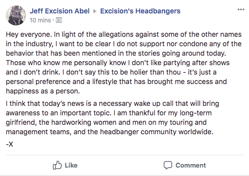 Excision's Response Datsik
