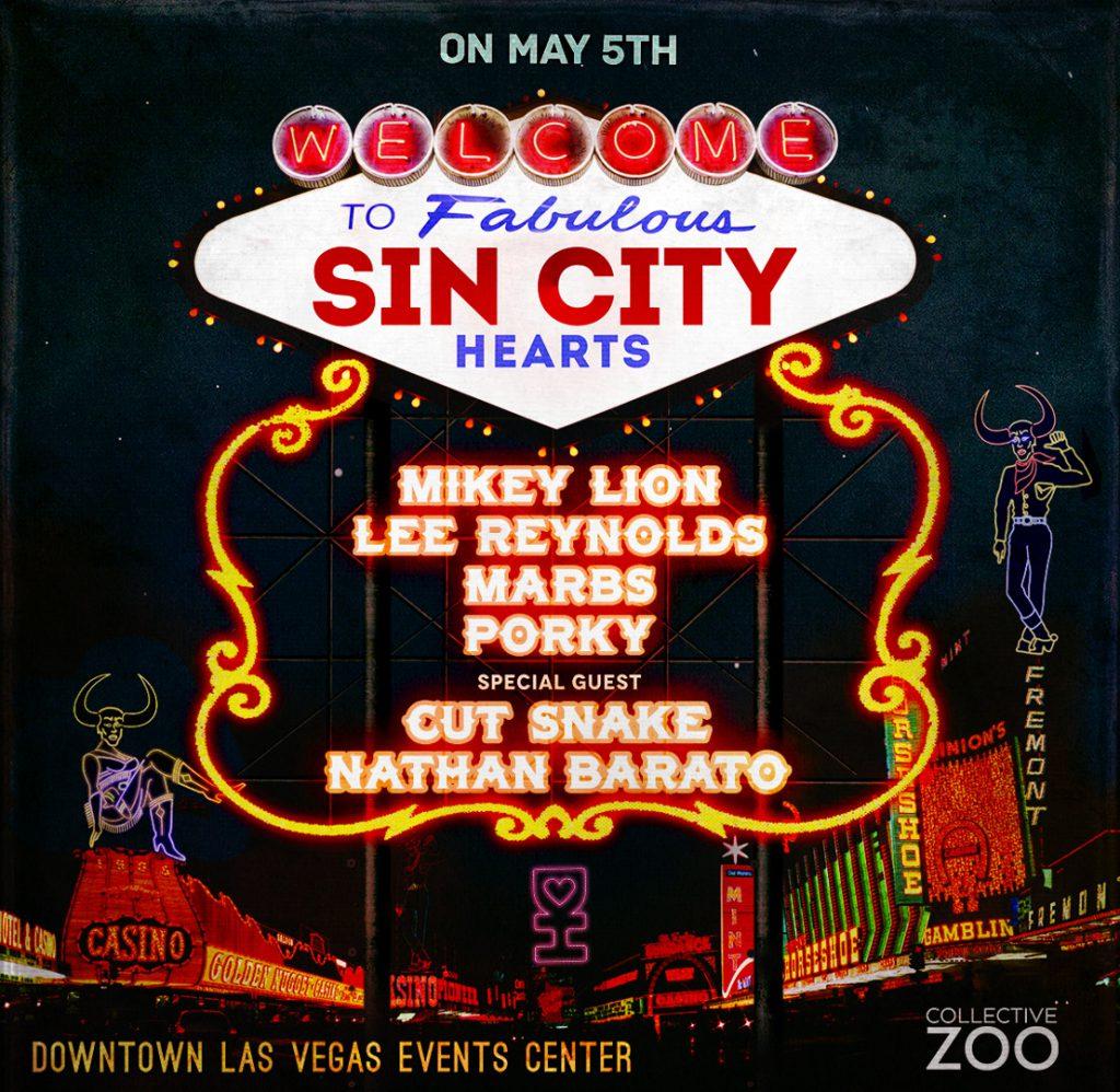 Sin City Hearts 2018 Lineup