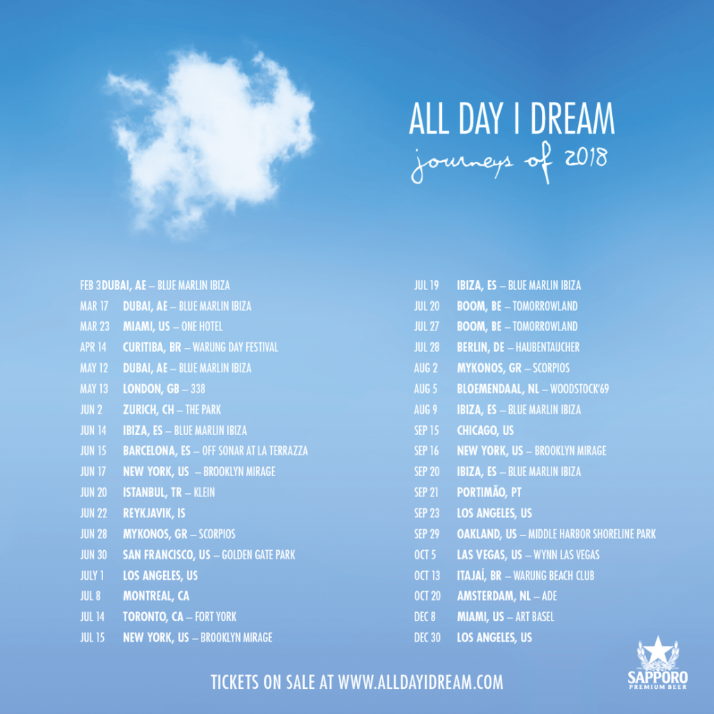 All Day I Dream Announces Journeys Of 2018 World Tour Edm