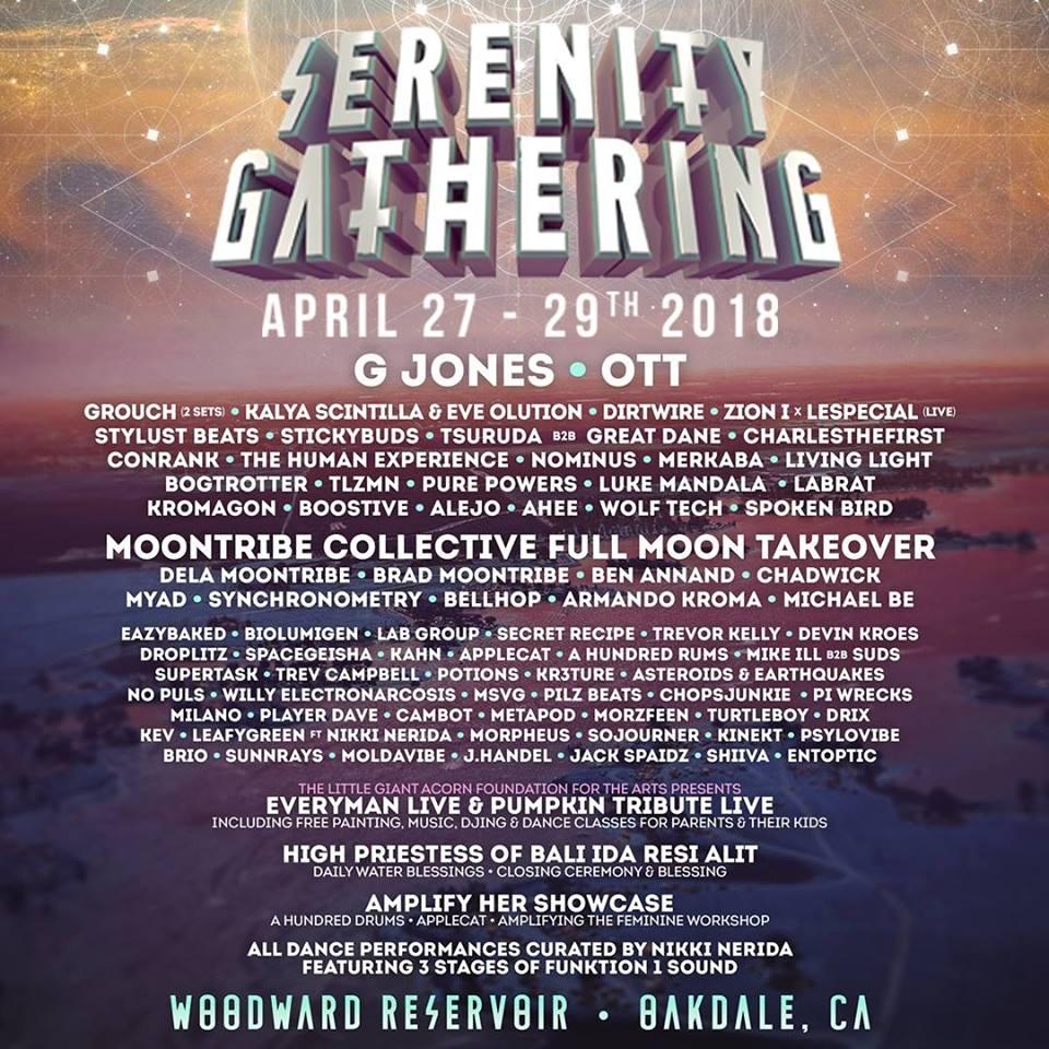 Serenity Gathering 2018 Lineup