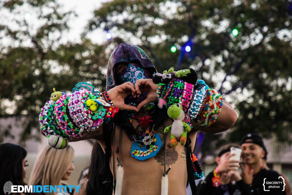 Mens Rave Fashion Kandi
