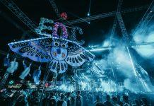 EDC Las Vegas 2018 Owl Totem