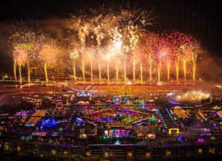 EDC Las Vegas 2018 Aerial